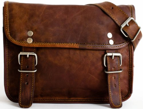 cartable cuir gusti sac bandouli re vintage le sac en cuir. Black Bedroom Furniture Sets. Home Design Ideas