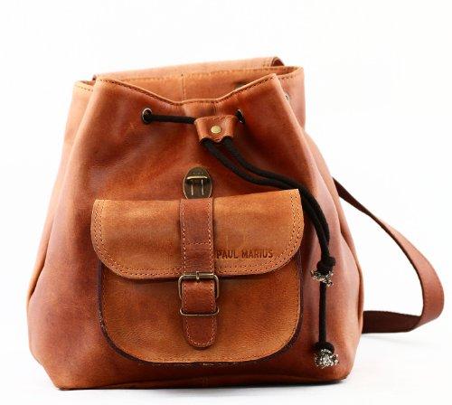 paul marius sac dos en cuir vintage le baroudeur le sac en cuir. Black Bedroom Furniture Sets. Home Design Ideas