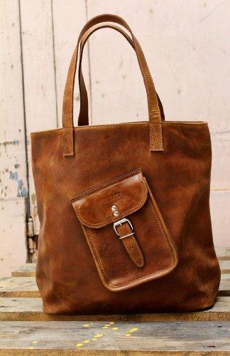 le cabas cuir vintage sac main de cours paul marius le. Black Bedroom Furniture Sets. Home Design Ideas