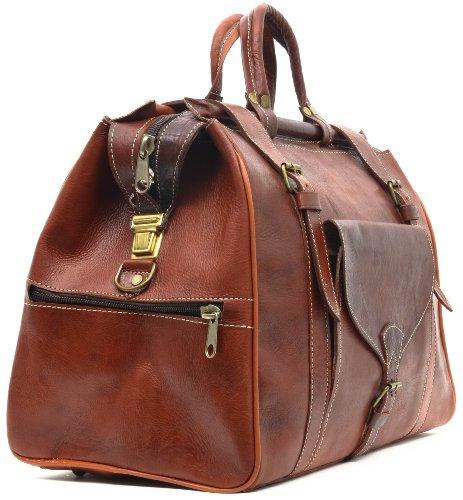 gusti cuir sac cabine sac de voyage bagage main cuir v ritable sac de sports sac port main. Black Bedroom Furniture Sets. Home Design Ideas