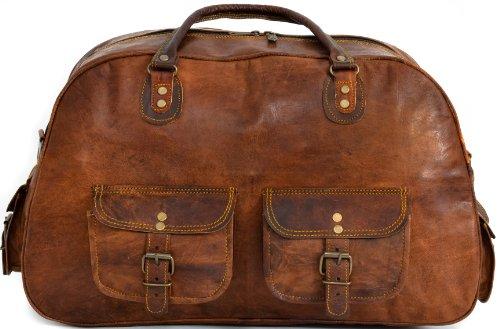 sac de sport gusti leder sac de voyage sac en bandouli re bagage main l ger bagage taille. Black Bedroom Furniture Sets. Home Design Ideas