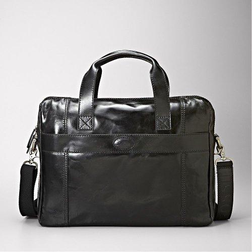 fossil sac main pour homme noir noir le sac en cuir. Black Bedroom Furniture Sets. Home Design Ideas