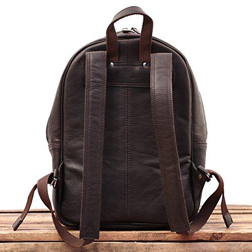 le mariol sac dos en cuir style vintage pour cole loisirs paul marius couleur indus le sac. Black Bedroom Furniture Sets. Home Design Ideas