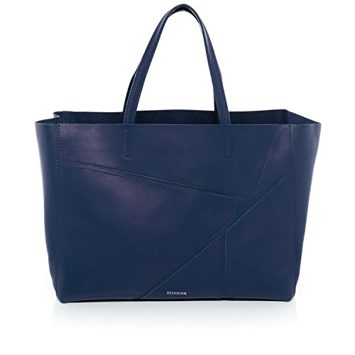 feynsinn sac main jax puzzle grand sac port paule sac des dames style tote bag indigo. Black Bedroom Furniture Sets. Home Design Ideas