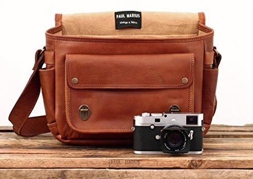 le petit reporter naturel sac appareil photo en cuir style vintage int rieur modulable paul. Black Bedroom Furniture Sets. Home Design Ideas
